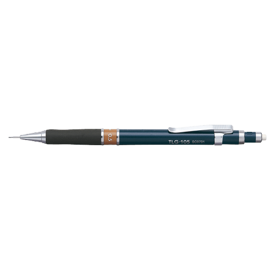 PENAC Japan - Druckbleistift TLG-1 dunkelblau/braun