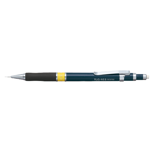 PENAC Japan - Druckbleistift TLG-1 dunkelblau/gelb