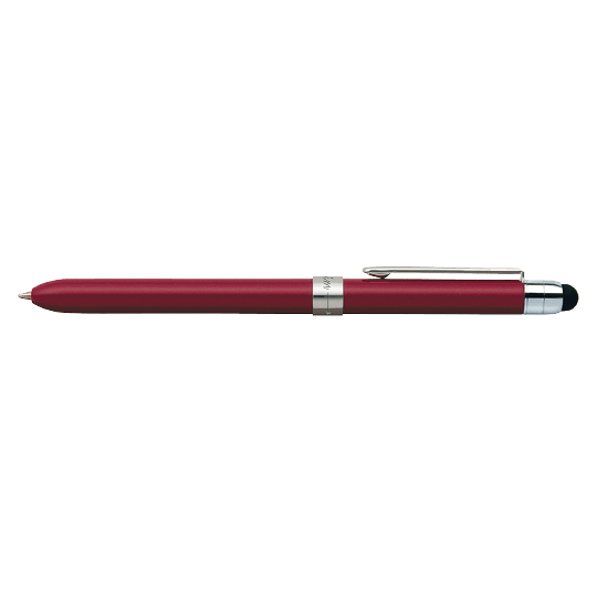 PENAC Japan - Multifunktionsstift SLIM TOUCH rot