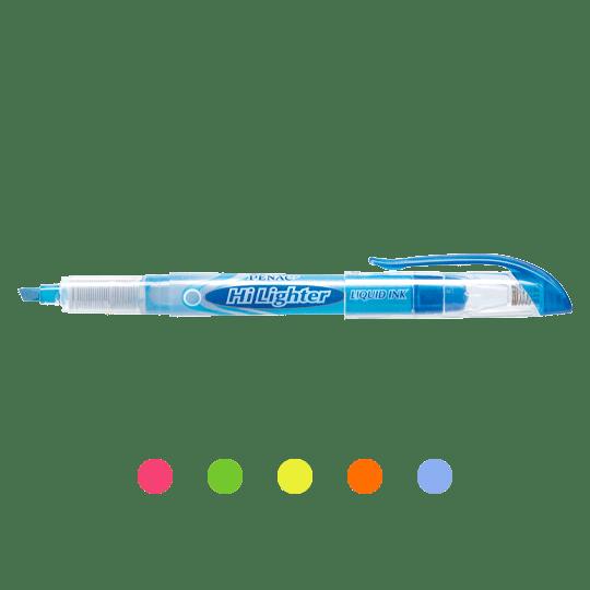 PENAC Japan - Flüssigtintenschreiber HI-LIGHTER Übersicht
