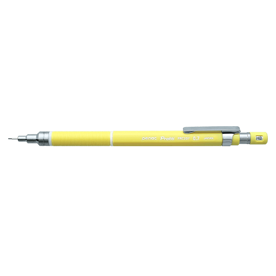 PENAC Japan Druckbleistift Protti PRC107 VIVID gelb
