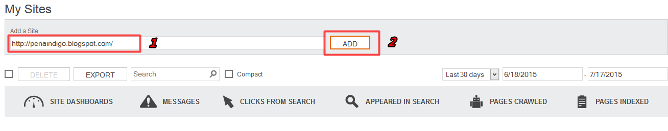 cara daftar dan verifikasi log ke bing webmaster tools 2