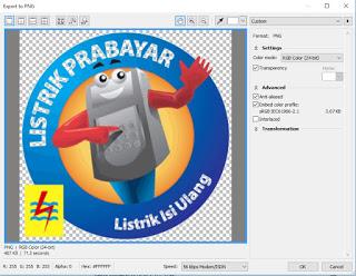 Cara Mudah Membuat Gambar Transparan di CorelDraw