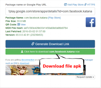 download file apk terbaru dari pc