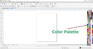 Cara Memunculkan Color Palette yang hilang