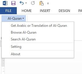 fitur quran in word terbaru