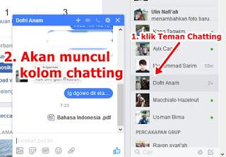 Cara Mudah Mengirim File Melalui Facebook