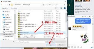 cara mengirim file melalui facebook terbaru