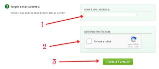 contact form keren di blog