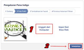 cara membuat fanspage facebook 2