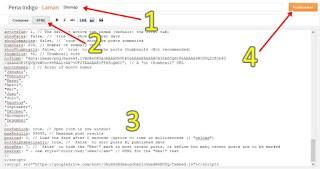 Memasang Sitemap Keren responsive