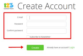 daftar contact form blog