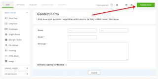 contact form keren untuk blog
