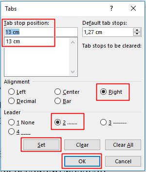 cara membuat titik titik daftar isi otomatis di microsoft word