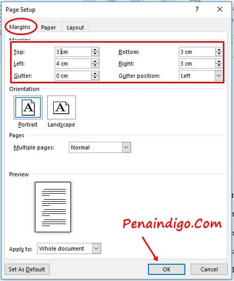 format penulisan makalah yang benar