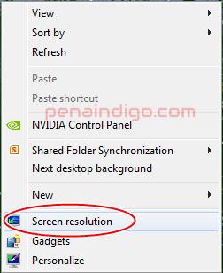 Cara Mengatur Resolusi Layar Komputer atau Laptop