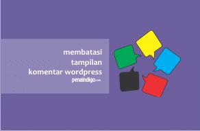 Photo of Cara Mengatur Jumlah Tampilan Komentar di WordPress