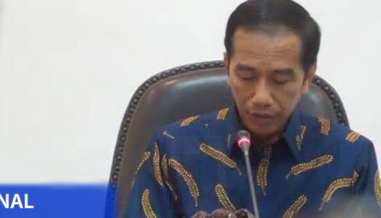 Jokowi Rapat Terbatas Kabinet