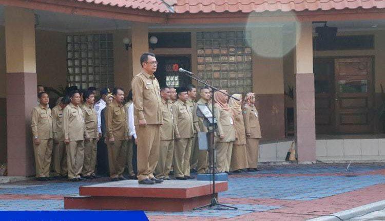 Sekda Kota Tangerang Penyerahan SK Pensiun