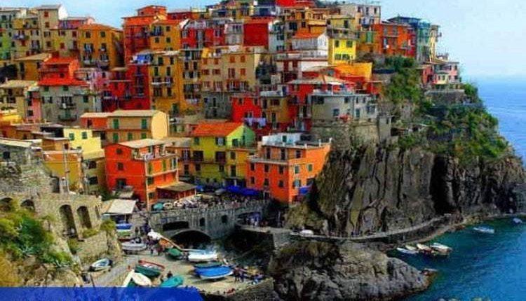kota dengan warna warni