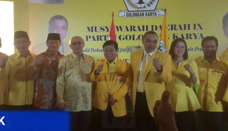 Musda Golkar Kabupaten Tangerang kuat usung zaki