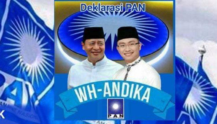 PAN Deklarasikan WH-Andika