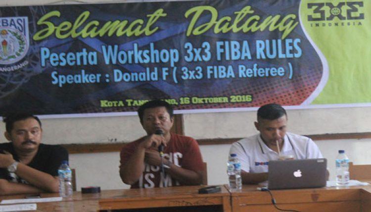 Perbasi Kota Tangerang sosialisasi basket 3x3