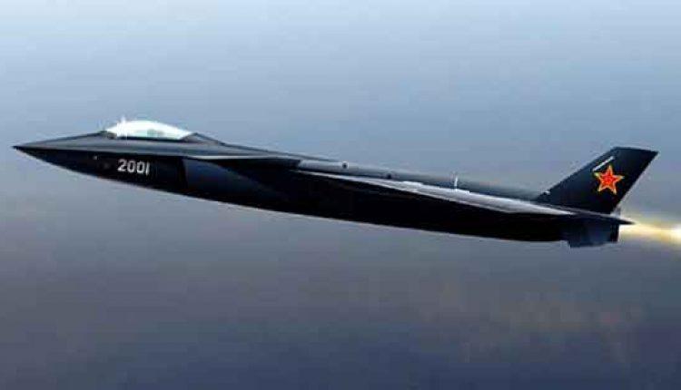 Jet Tempur Black Eagle J-20