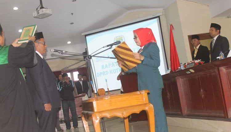 Baihaqi Resmi Dilantik Jadi Legislator