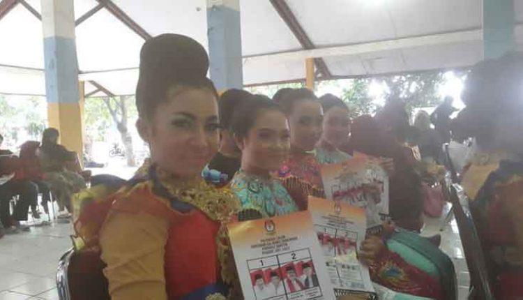 sosialisasi KPU Kota Tangerang gandeng seniman