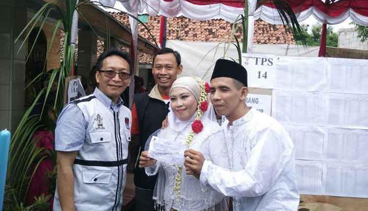 menikah di psu pilkada Banten
