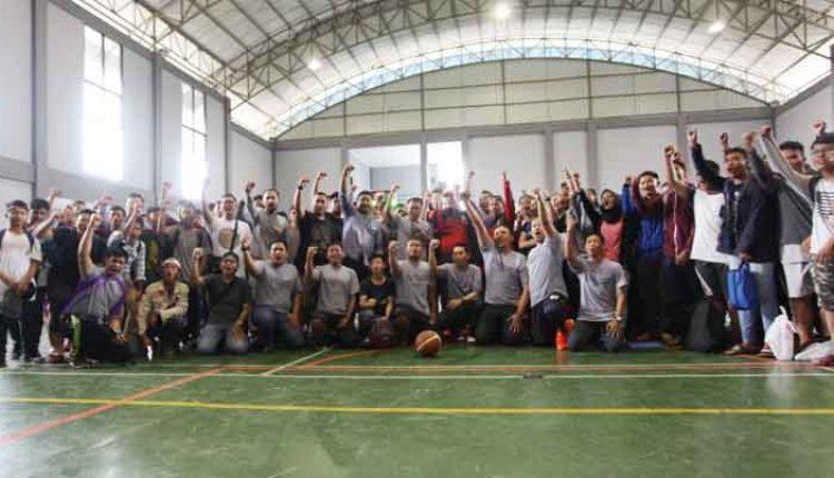 turnamen bola basket HUT Kota Tangerang