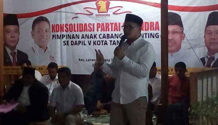 Soal Pilkada Kota Tangerang Gerindra