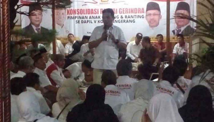 konsolidasi jelang Pilkada Kota Tangerang 2018