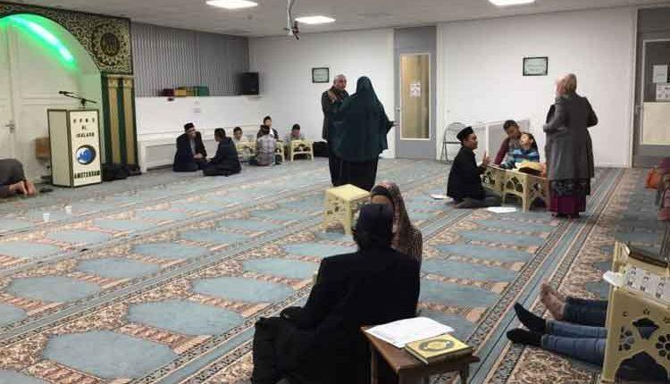 Masjid Komunitas Muslim Indonesia di Amsterdam