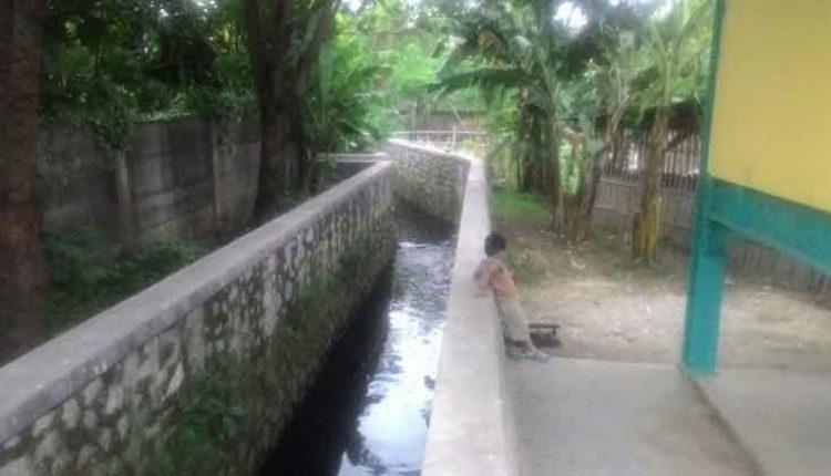 pagar pengaman turap sungai