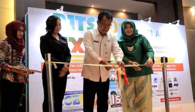 Pembukaan Pameran Industri Teknologi Banten 2017