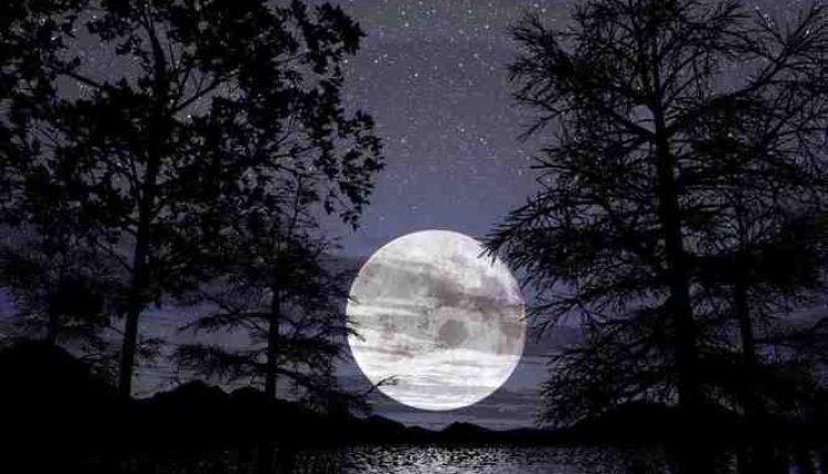 melihat bulan jelas