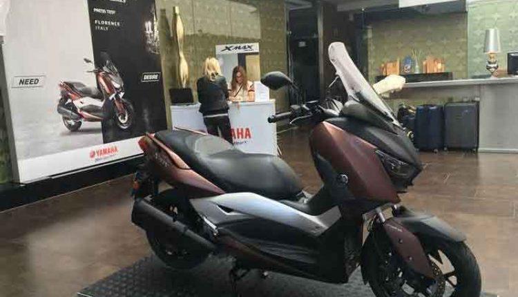 Yamaha ekspor skutik XMAX 300