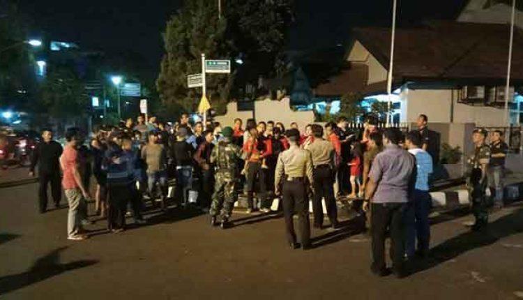 aksi damai 1000 lilin Ahok Tangerang