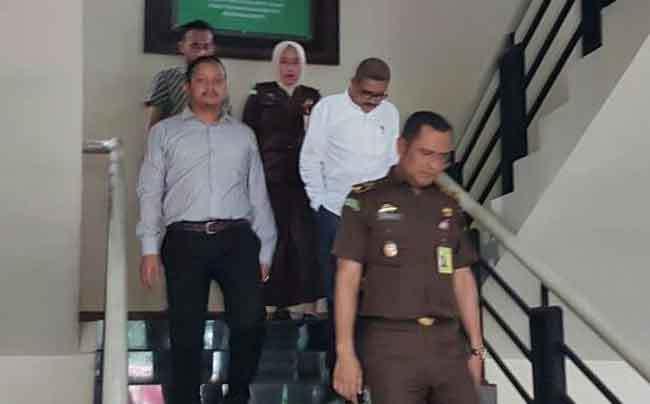Kejari Tangerang tahan tersangka pungli BPBD