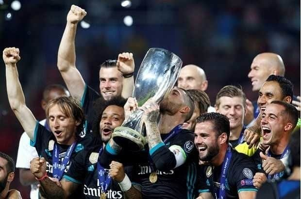 Piala Super Eropa 2017 Real Madrid