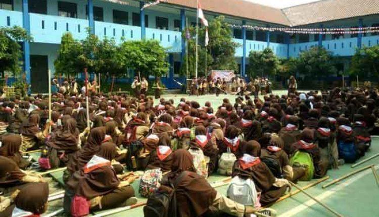 SMPN 23 Kota Tangerang Gelar Kegiatan Parade Pramuka