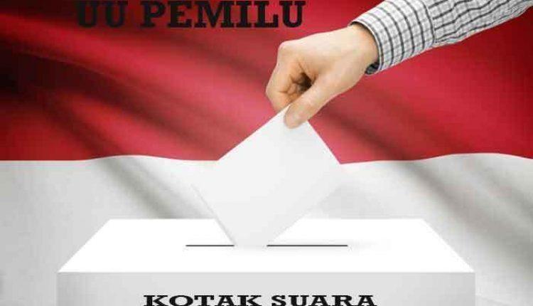 Jokowi teken draf uu pemilu