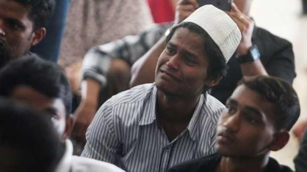 gelar doa bersama warga Rohingya