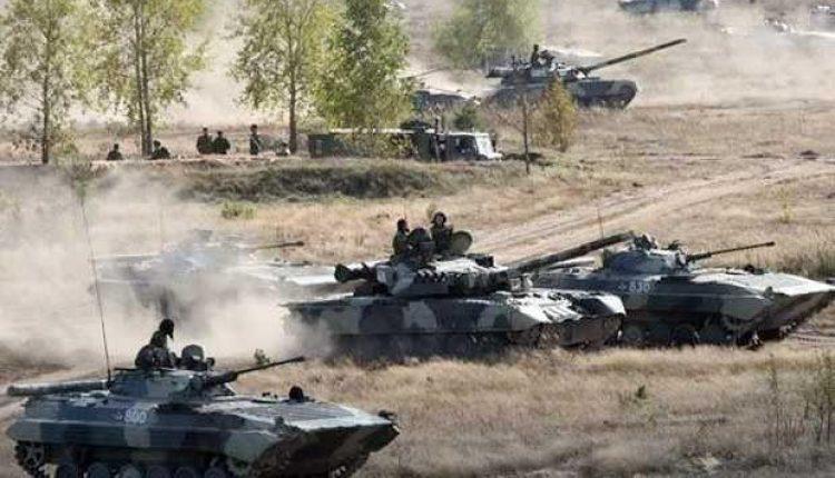 Latihan Militer Rusia