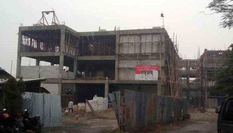 Proyek gedung SMP-N 28 Ciledug