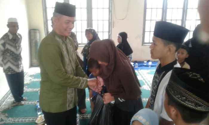 santuni anak yatim di tahun baru islam