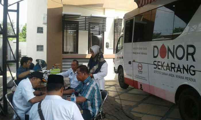 PMI Kota Tangerang Galang Donor Darah