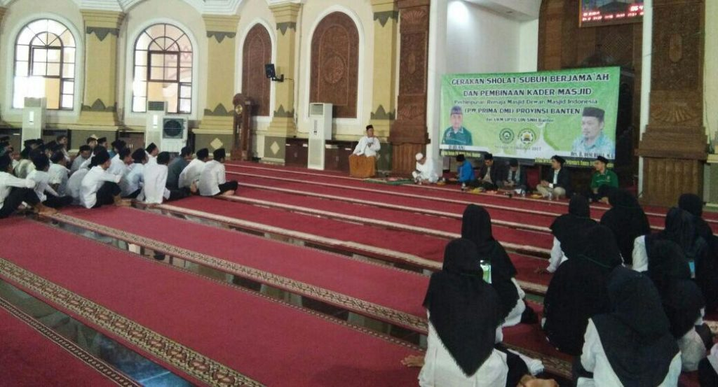 Subuh Jamaah di Masjid Al-Bantani Banten